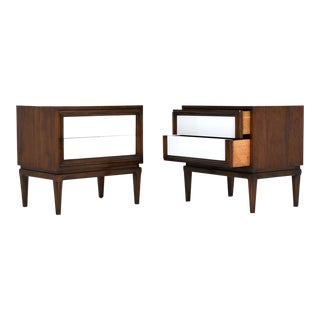 Mid-Century Modern Style Nightstands - A Pair
