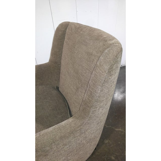 Custom Mid Century Design Lounge Chair For Sale In Los Angeles - Image 6 of 10