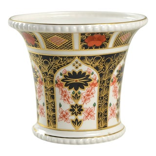 Royal Crown Derby Old Imari Small Cachepot For Sale