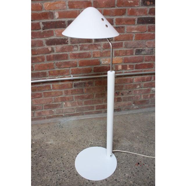 1980s Jørgen Gammelgaard Floor Lamp in Aluminum and Chrome For Sale - Image 5 of 13