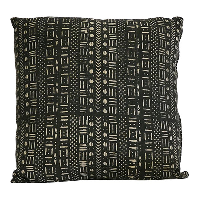 African Mudcloth Pillow For Sale