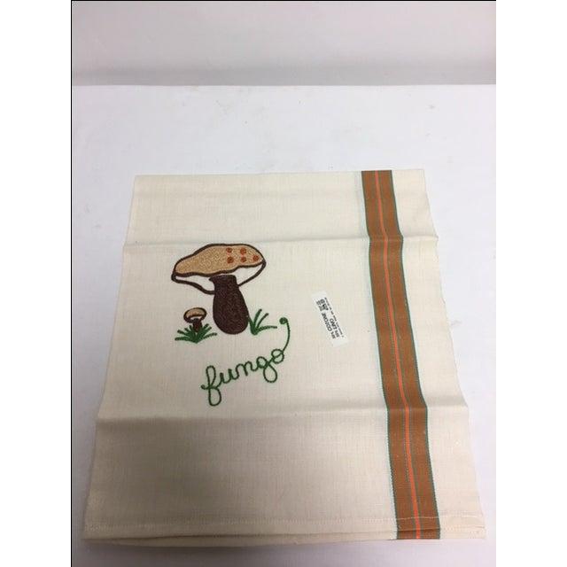 Vintage Italian Linen Kitchen Towels - Set of 3 - Image 3 of 5