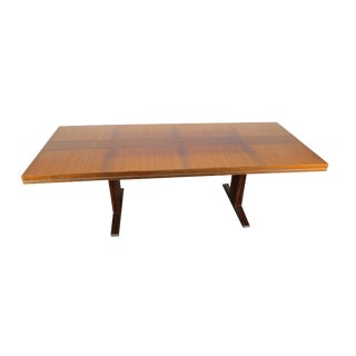 1960s Vintage E.M.U. German Rosewood Adjustable Table For Sale