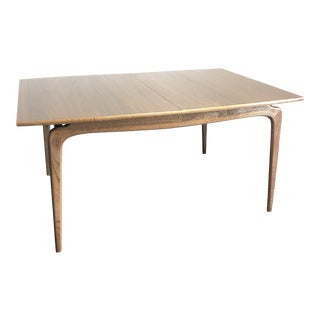 Mid-Century Modern Warren Church for Lane Perception Sculptural Dining Table For Sale