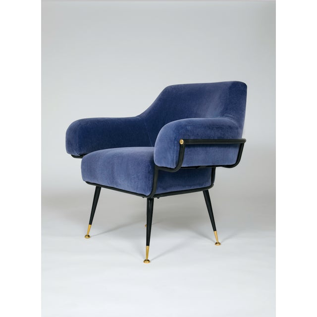 Studio Van den Akker The Roberto Club Chair by Studio Van Den Akker For Sale - Image 4 of 4