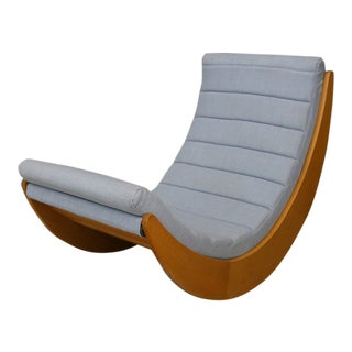Rocking Chair by Verner Panton for Rosenthal, 1974 For Sale