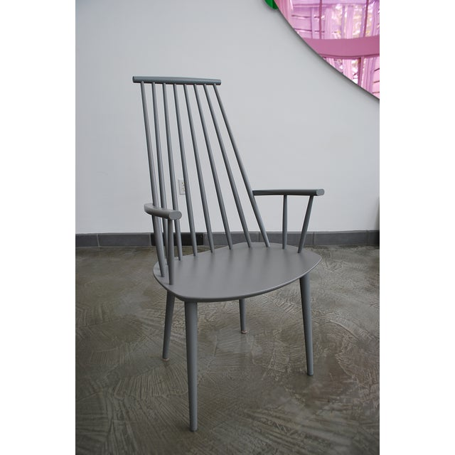 Contemporary Poul Volther J110 Chair For Sale - Image 3 of 4