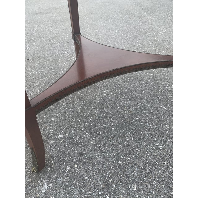 Vintage John Widdicomb Empire Gueridon Table For Sale In West Palm - Image 6 of 9