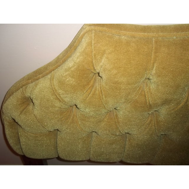 Vintage 1960s King Size Tufted Headboard - Image 3 of 7