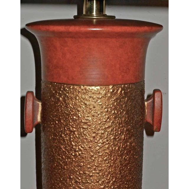 Sensational, Large Scale Pair of Ceramic Lamps - Image 6 of 7