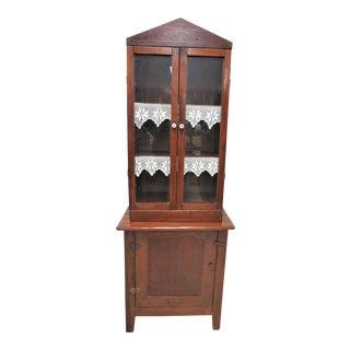 Antique Farmhouse Cupboard For Sale