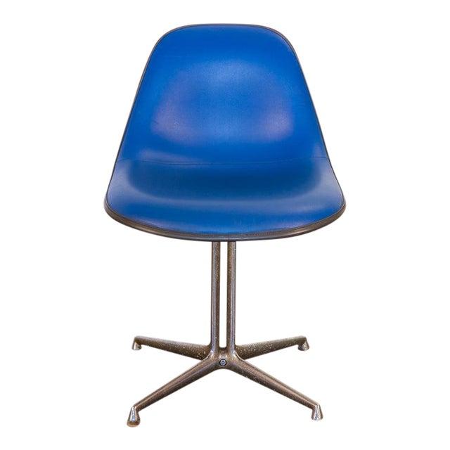 Blue La Fonda Eames Chair for Herman Miller