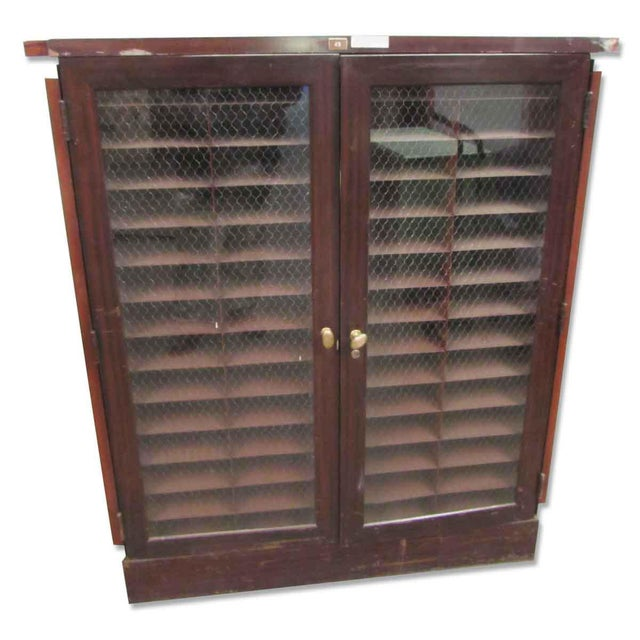 Wood & Metal Cabinet - Image 8 of 9
