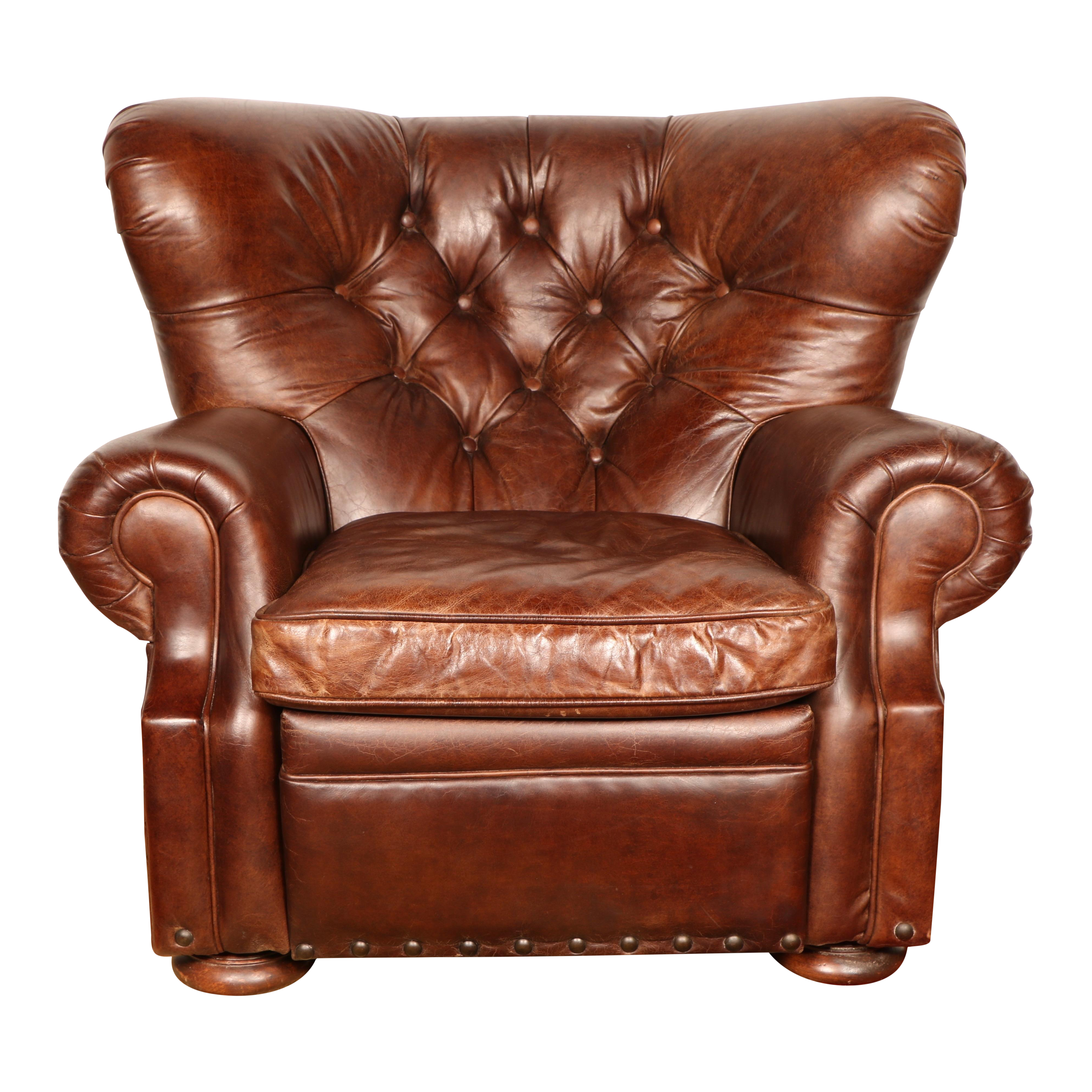 Superieur Churchill Leather Recliner By Restoration Hardware