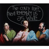 """Image of """"The Crazy Part"""" Contemporary Figurative Oil Painting For Sale"""