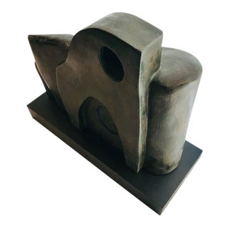 Abstract Sculpture Signed J. Dersh For Sale