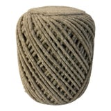 Image of Mid-Century Modern Inspired Gray Natural Wool Pouf For Sale