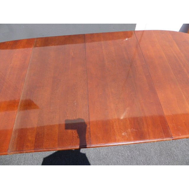 American of Martinsville Dining Room Table - Image 9 of 11