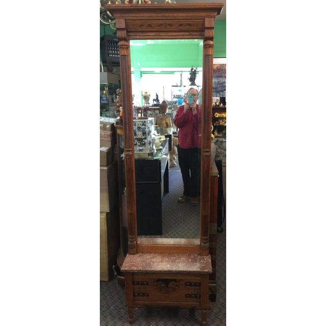 Victorian Eastlake Pier Mirror For Sale - Image 9 of 9
