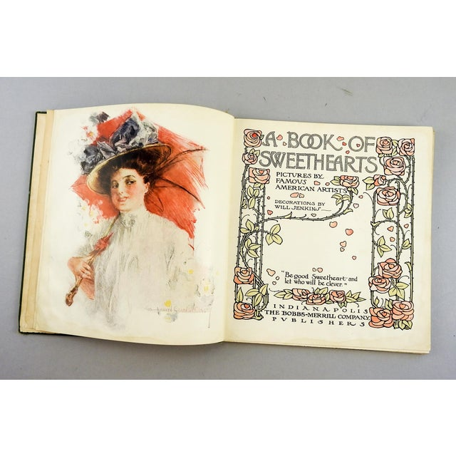 """A Book of Sweethearts"" 1908 Book For Sale - Image 5 of 11"