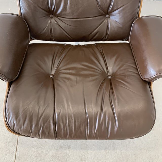 1970s Vintage Herman Miller Eames Lounge Chair For Sale In Minneapolis - Image 6 of 10