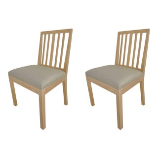 Rose Tarlow for Melrose House Dining Chairs - A Pair For Sale