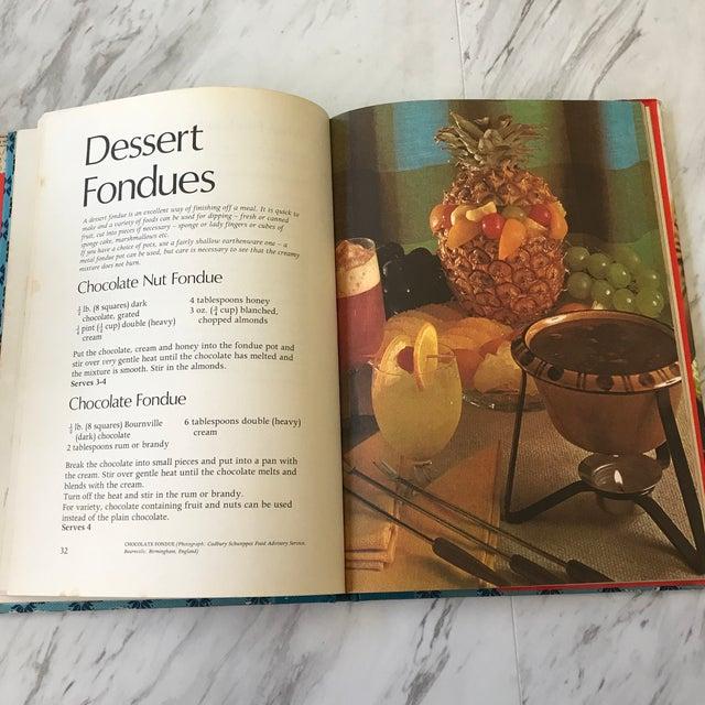 Vintage Fondue Cookbooks - Set of 3