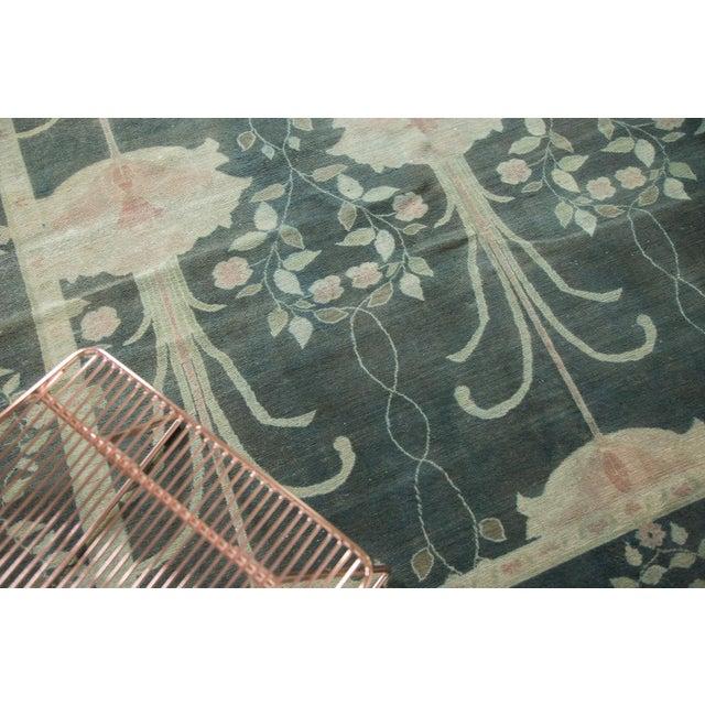"""Vintage Indo Donegal Carpet - 8'8"""" x 11'9"""" - Image 2 of 9"""