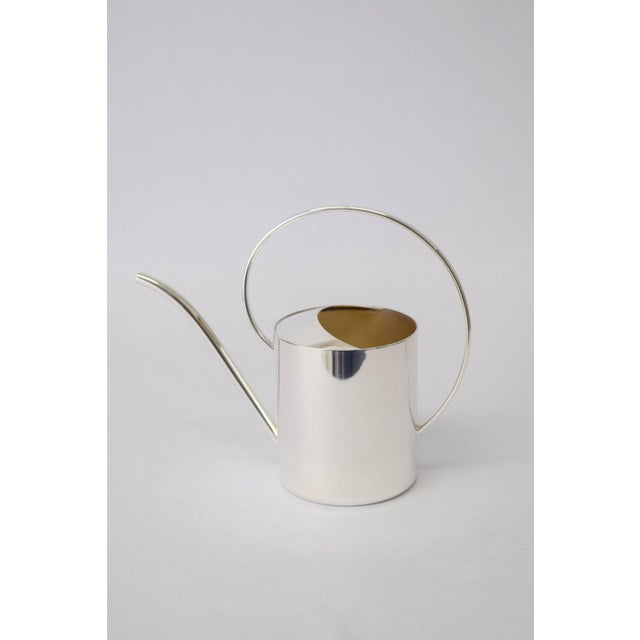 Exquisite Danish Silver Plate Creamer For Sale - Image 4 of 9
