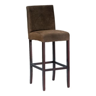 Sarreid LTD 'Carolina' Suede Bar Stool For Sale