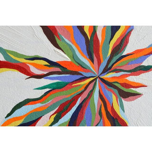 """Original """"Luz Del Fuego"""" Painting - Image 3 of 4"""