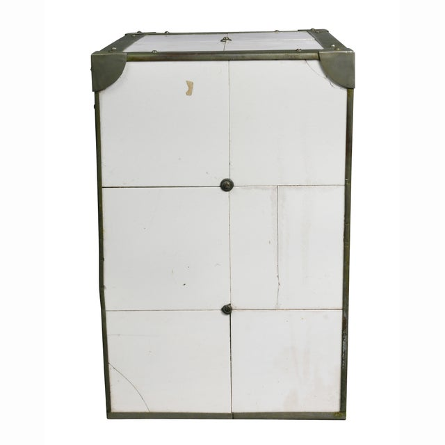 Cigar Humidor in the Form of Icebox For Sale - Image 10 of 11