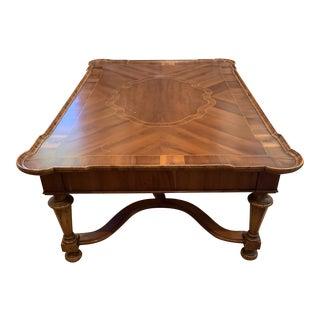 Alfonso Marina Walnut Coffee Table For Sale
