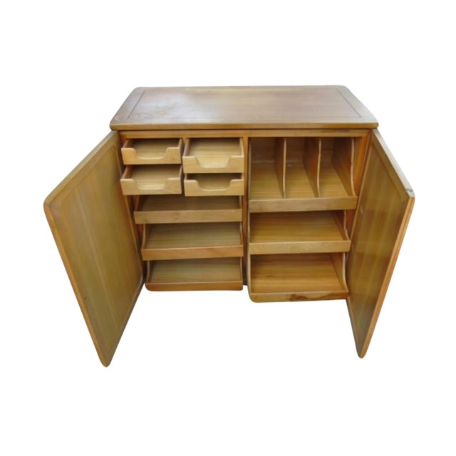 Wooden Storage Cabinet - Image 1 of 5