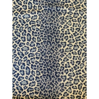 Colefax and Fowler Panthera Linen Blend Fabric 2 6/8 Yards For Sale