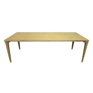 Mid-Century Maple Wood School Table For Sale