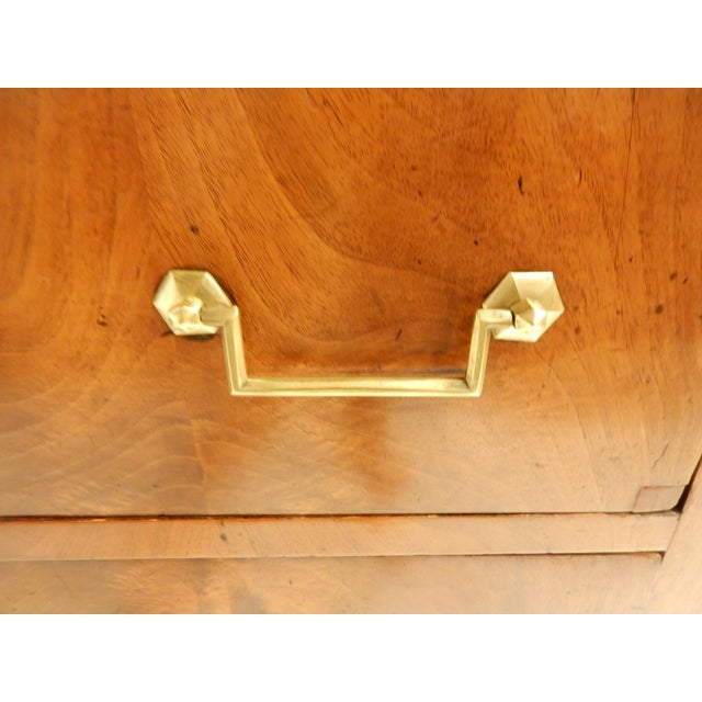 Walnut 19th Century French Walnut Commode For Sale - Image 7 of 9