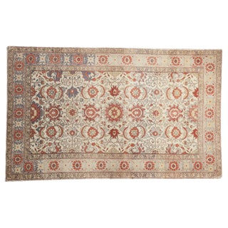 "Vintage Distressed Kayseri Rug - 4'2"" X 6'9"" For Sale"