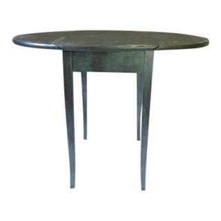 Small Painted Drop Leaf Table