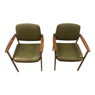 Mid-Century InterRoyal Corp Chairs - a Pair For Sale
