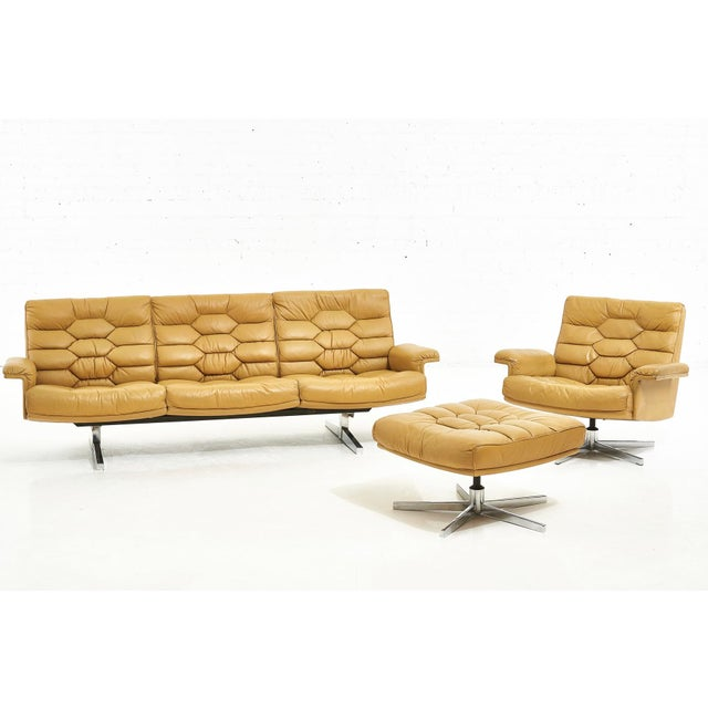 De Sede Leather Ds-P Sofa by Robert Haussmann, Switzerland, 1970 For Sale In Chicago - Image 6 of 9