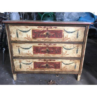 19th Century Italian Florentine Hand Painted Chest Preview