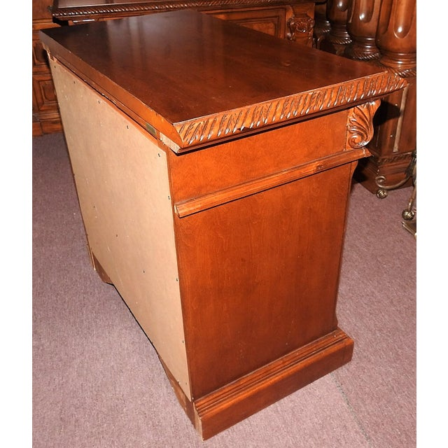 Luxury Cherry Nightstand (Part 6 of a 6-Piece Set) - Image 4 of 7