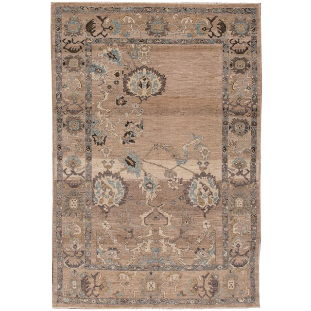 """Wool Sultanabad Rug - 6'9"""" x 9'10"""" - Image 1 of 7"""