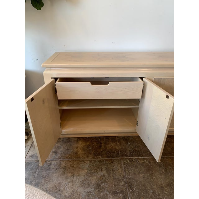 Burled Wood Credenza For Sale In Los Angeles - Image 6 of 8