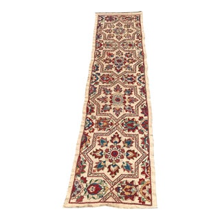 Handmade Suzani Table Runner For Sale