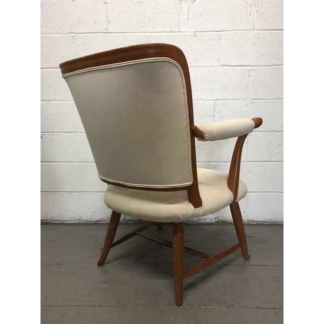1950s Pair of 1950s French Country Armchairs For Sale - Image 5 of 8