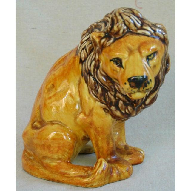 Mid-Century Italian Safari Lion - Image 2 of 7