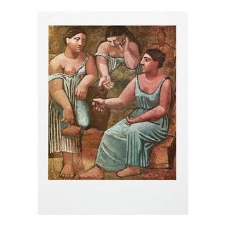 "1971 Pablo Picasso, ""Three Women at the Fountain"" Period Parisian Photogravure For Sale"