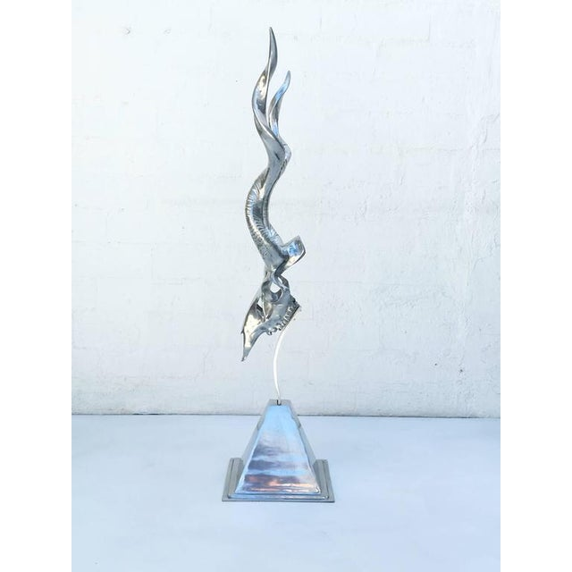 Polished Aluminum Sculpture by Arthur Court - Image 3 of 10
